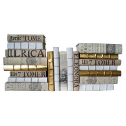 E Lawrence Neutral Parchment Mix With Metallics - Set Of 20