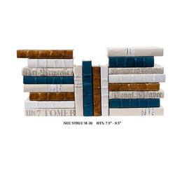 E Lawrence Neutral Mix With Antique Gold And Steel Blue - 20 Vol.