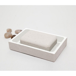 Pigeon & Poodle Manchester Soap Dish - Sand