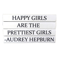 "E Lawrence Quotations Series ""Happy Girls Are The Prettiest..."" 4 Volume Stack"