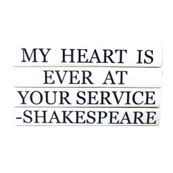 "E Lawrence Quotations Series ""My Heart Is Ever At Your Service"""