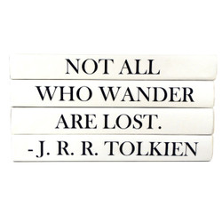 "E Lawrence Quotations Series ""Not All Who Wonder Are Lost"""