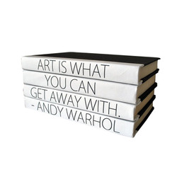 "E Lawrence Quotations Series: ""Art Is What You Can Get Away With"" 4 Volume Stack"