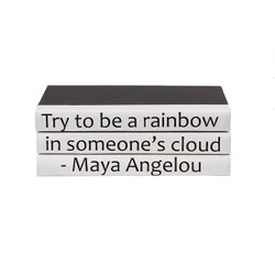E Lawrence Quotations Series: Be A Rainbow, By Maya Angelou