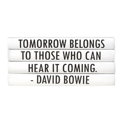 "E Lawrence Quotations Series: David Bowie ""Tomorrow Belongs..."" 4 Vol."