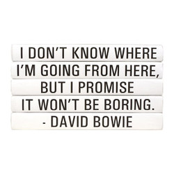 "E Lawrence Quotations Series: David Bowie ""I Don'T Know Where ..."" 4 Vol."