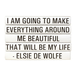 "E Lawrence Quotations Series: Elsie De Wolfe ""I Am Going To Make ..."" 5 Vol."