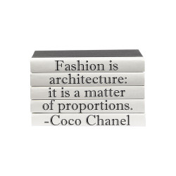 "E Lawrence Quotations Series: Coco Chanel ""Fashion Is..."" 5 Vol."