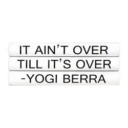 "E Lawrence Quotations Series: Yogi Berra ""It Ain'T Over..."" 3 Vol."