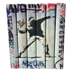 E Lawrence Street Art Series: Flower Thrower Set Of 6