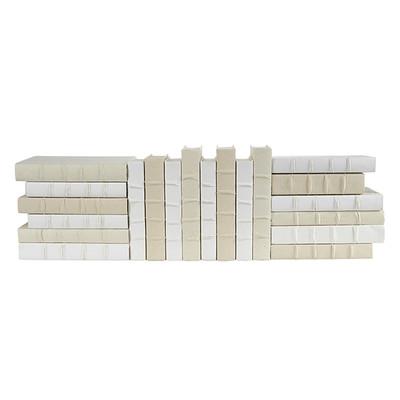 E Lawrence 20 Volume Linen, White And Cream Mix