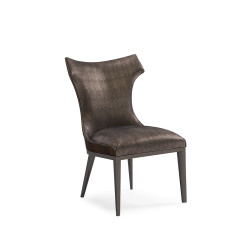 Caracole The Urbane Dining Side Chair - Leather