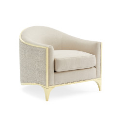 Caracole The Svelte Chair - Majestic Gold/ Moonstone