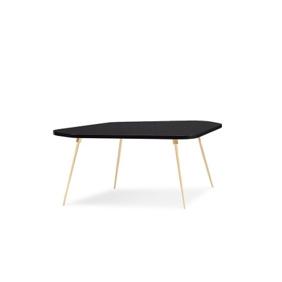 """Caracole The Geo Modern Cocktail Table - 40"""""""