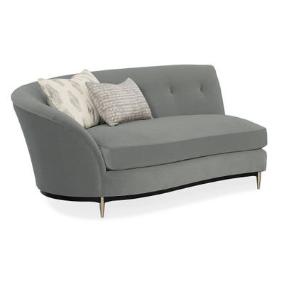 Caracole Three's Company LAF Loveseat