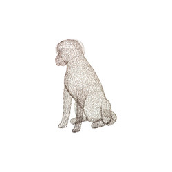 Phillips Collection Crazy Wire Retriever, LG