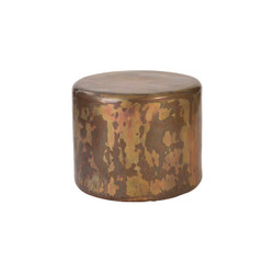 Phillips Collection Button End Table, Posh Finish