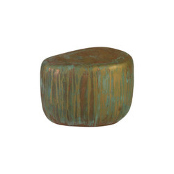 Phillips Collection Wedge End Table, Lichen Finish