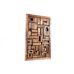 Phillips Collection Asken Wall Art, Wood, SM