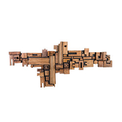 Phillips Collection Asken Wall Art, Wood, Freeform
