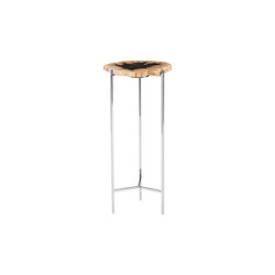 Phillips Collection Petrified Wood Beverage Table, Off White, LG