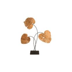 Phillips Collection Carved Leaf Sculpture