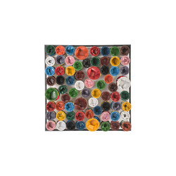 Phillips Collection Paint Can Wall Art, Square, Assorted Colors, LG