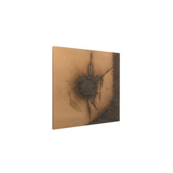 Phillips Collection Abstract Copper Patina Wall Art, Circle