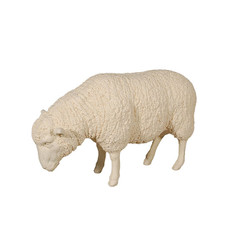 Phillips Collection Sheep Sculpture, Cream