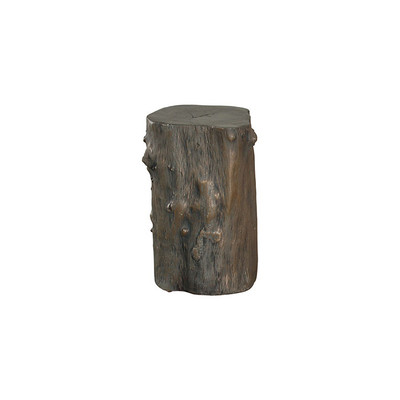 Phillips Collection Log Stool, Bronze, SM
