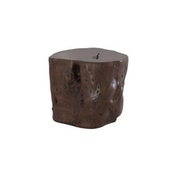 Phillips Collection Log Stool, Bronze, LG