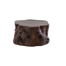 Phillips Collection Log Coffee Table, Bronze