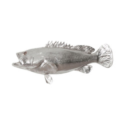 Phillips Collection Estuary Cod Fish, Silver Leaf