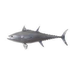 Phillips Collection Bluefin Tuna Fish, Polished Aluminum
