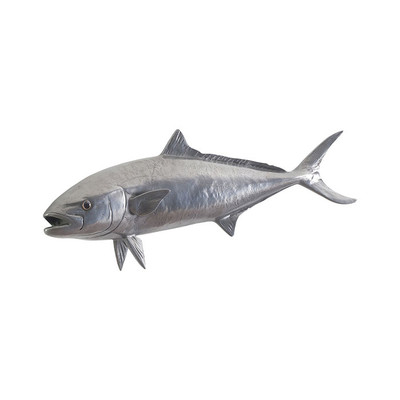 Phillips Collection Yellow Tailed King Fish, Polished Aluminum