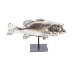 Phillips Collection LGmouth Bass Fish, with Stand