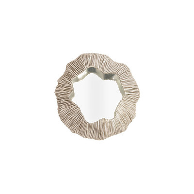 Phillips Collection Fungia Mirror, Silver