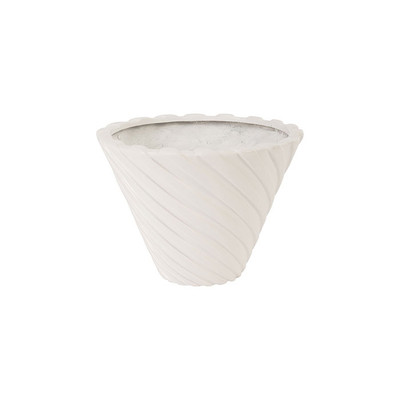 Phillips Collection Turbo Pot, Gel Coat White