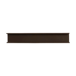 Phillips Collection I-Beam Wall Shelf, Rust