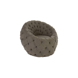 Phillips Collection Egg Chair, Ramie Grey