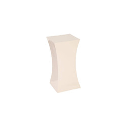 Phillips Collection Paya Pedestal, Gel Coat White