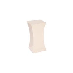 Phillips Collection Paya Pedestal, Gel Coat White