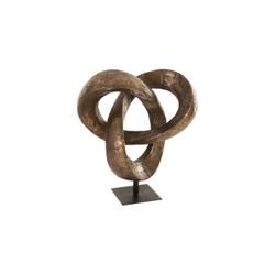 Phillips Collection Trifoil Sculpture, Bronze
