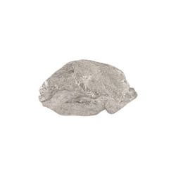 Phillips Collection Boulder Wall Art, Silver Leaf