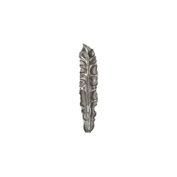 Phillips Collection Petiole Wall Leaf, Silver, LG, Version B