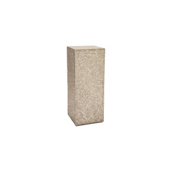Phillips Collection String Theory Pedestal, Silver Leaf, MD