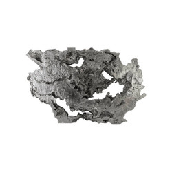 Phillips Collection Burled Root Wall Art, Silver Leaf, LG