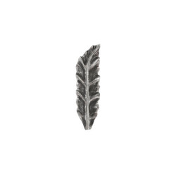 Phillips Collection Petiole Wall Leaf, Silver, SM, Version B