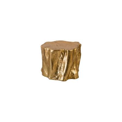 Phillips Collection Log Trivet, Gold Leaf