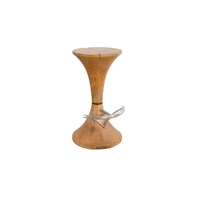 Phillips Collection Butterfly Bar Stool, Natural